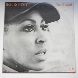 'Nuff Said  /  Ike & Tina Turner  --   LP 33 giri - Made in Italy