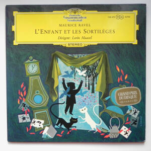 Maurice Ravel L'ENFANT ET LES SORTILEGES / Orchestre National Paris conducted by Loring Maazel --  LP 33 giri - Made in Germany