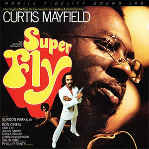 Curtis Mayfield - Superfly Soundtrack  --   2 LP 45 giri su vinile 180 gr. Made in USA - Edizione limitata e numerata - SIGILLATO