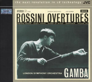 Rossini Overtures - London Symphony Orchestra - Pierino Gamba, conductor  --  XRCD24
