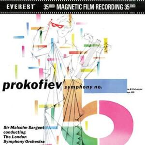 Prokofiev - Symphony No. 5 - The London Symphony Orchestra Sir Malcolm Sargent, conductor  --  Doppio LP 45 giri 200 gr. Made in USA