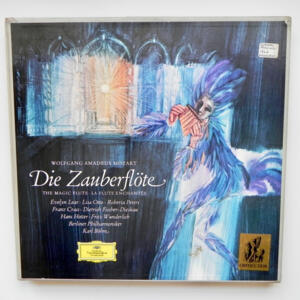 Mozart DIE ZAUBERFLOTE / Berliner Philharmoniker conducted by  Karl Bohm  --  Boxset 3 LP 33 giri - Made in Germany
