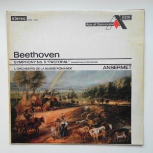 Beethoven SYMPHONY NO. 6 PASTORAL / L'Orchestre de la Suisse Romande conducted by Ansermet --  LP 33 giri -  Made in England