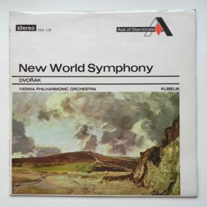 Dvorak - New World Symphony / Vienna Philharmonic Orchestra conducted by Kubelik --  LP 33 giri -  Made in England