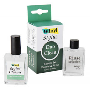 Winyl - Stylus Duo Clean  --  Complete and effective cleaning solution for the stylus' delicate tip