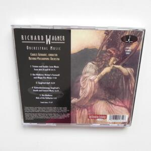 R. Wagner ORCHESTRAL MUSIC / National Philharmonic Orchestra conducted by Charles Gerhardt  --  CD Made in USA