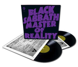Black Sabbath - Master of Reality   --  Deluxe Edition 180g doppio LP 33 giri  Made in USA