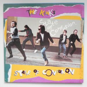State of Confusion  / The Kinks --  LP 33 giri - Made in Italy
