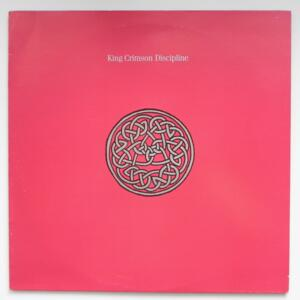 Discipline  / King Crimson  --  LP 33 giri  - Made in Italy