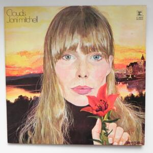 Clouds  /  Joni Mitchell  --  LP 33 giri - Made in UK