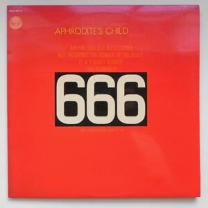 666  /  Aphrodite's Child  -- Doppio LP 33 giri - Made in Italy