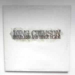 Starless and Bible Black / King Crimson  --  LP 33 giri  - Made in Italy