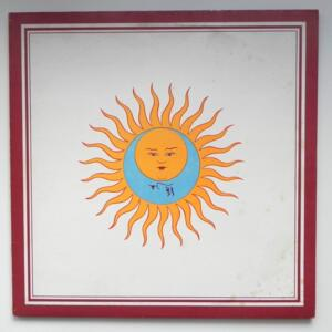 Lark's Tongues in Aspic / King Crimson  --  LP 33 giri  - Made in Italy