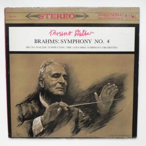 Brahms - SYMPHONY NO. 4 / The Columbia Symphony Orchestra conducted by Bruno Walter  --  LP 33 giri - Made in USA