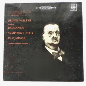 Bruckner - SYMPHONY NO. 9 IN D MINOR / The Columbia Symphony Orchestra conducted by Bruno Walter  --  LP 33 giri - Made in UK