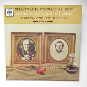 Schubert - SYMPHONY IN C MAJOR (THE GREAT) /  Columbia Symphony Orchestra conducted by Bruno Walter   --  LP 33 giri - Made in UK