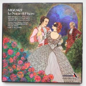 Mozart - LE NOZZE DI FIGARO / Vienna Philharmonic Orchestra  conducted by Erich Kleiber  -- BCofanetto 3 LP 33 giri - Made in UK