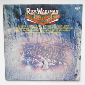 Journey to the Centre of the Earth  /  Rick Wakeman - The London Symphony Orchestra - The English Chamber Choir --  LP 33 giri - Made in Japan
