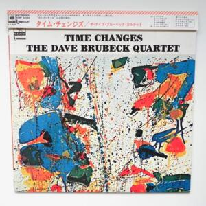 Time Changes / The Dave Brubeck Quartet  --  LP 33 giri - Made in Japan - OBI