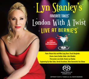 Lyn Stanley - Lyn Stanley's Favorite Takes-London With A Twist - Live At Bernie's   --  SACD Ibrido Stereo Made in USA