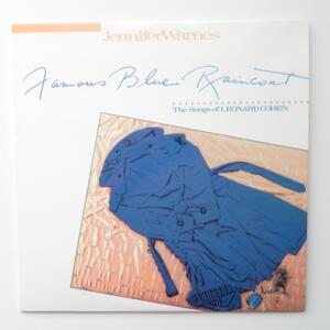 Famous Blue  Raincoat / Jennifer Warnes  --  LP 33 giri 180 gr.  - Made in USA - RARA stampa Classic Records