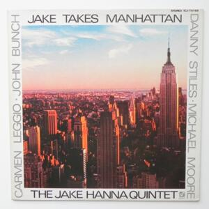 Jakes Takes Manhattan / The Jake  Hanna Quintet  --  LP 33 giri - Made in Japan