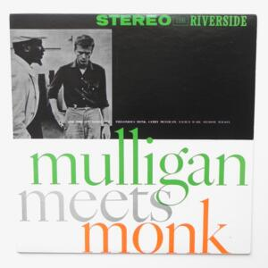 Mulligan meets Monk / Mulligan - Monk  --  LP 33 giri - Made in  Japan