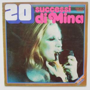 20 Successi di Mina / Mina  --  LP 33 giri - Made in Italy