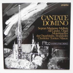 Oscars Motettkor - CANTATE DOMINO  -- LP 33 giri 180 gr. - Made in Germany