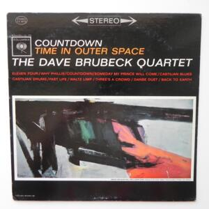 Countdown - Time in Outer Space / The Dave Brubeck Quartet  --  LP 33 giri - Made in USA
