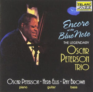 The Oscar Peterson Trio ‎– Encore At The Blue Note   --  CD Made in USA
