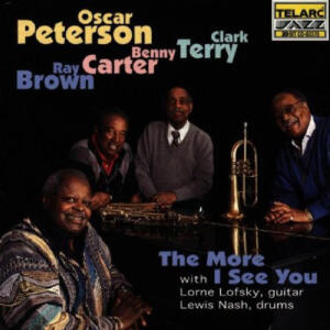 Oscar Peterson ‎– The More I See You   --  CD Made in USA