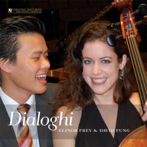 Elinor Frey, cello  & David Fung, piano -  Dialoghi   --  LP 45 giri 180 gr. Made in USA/Germany
