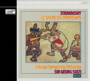 Stravinsky - Le Sacre Du Printemps - Chicago Symphony Orchestra Sir Georg Solti, conductor  --   XRCD24