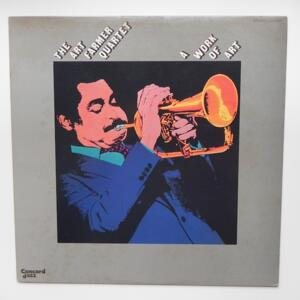 A Work of Art / The Art Farmer Quartet  --  LP 33 giri - Made in Japan - CONCORD JAZZ - LCJ-2028 - LP APERTO