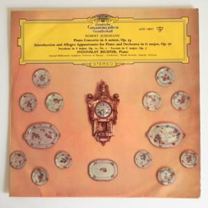 R. Shumann PIANO CONCERTO IN A MINOR, OP. 54 / S. Richter / National Philharmonic Symphony Orchestra of Warsaw conducted by Rowicki & Wislocki --   LP 33 rpm - Made in UK