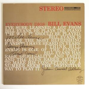 Everybody Digs Bill Evans / Bill Evans Trio  --  LP 33 giri - Made in Japan