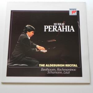 Murray Perahia THE ALDEBURGH RECITAL Beethoven - Rachmaninov - Schumann - Liszt / Murray Perahia --  LP 33 giri  - Made in Holland