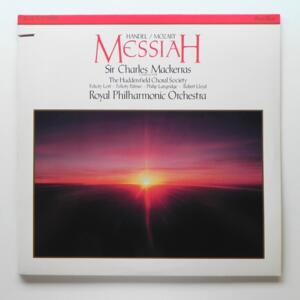Handel/Mozart MESSIAH / Royal Philharmonic Orchestra conducted by Sir Charles Mackerras  --  Doppio LP 33 giri  - Made in USA