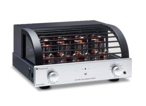 PrimaLuna EVO 400 - Tubes Integrated Amplifier - 2 x 70 Watt U.L. or 38 x 2 Triode - Autobias -  5 inputs RCA - Remote control - Headphone Amplifier - Sub out - SILVER finish (BLACK finish on request)