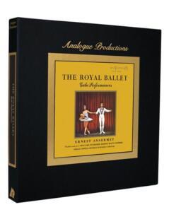 Ernest Ansermet - The Royal Ballet Gala Performances  --  Lussuoso Cofanetto contenente 5 LP 45 giri su vinile 200 gr. Made in USA by Analogue Productions - SIGILLATO