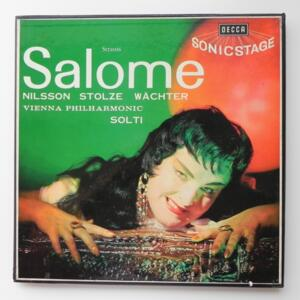 Strauss SALOME / Vienna Philharmonic conducted by Solti  -- Boxset Doppio  LP 33 giri - Made in UK