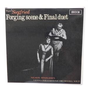 Richard Wagner SIEGFRIED (forging scene & final duet)  / Vienna Philharmonic Orchestra conducted by Solti --  LP 33 giri - Made in UK