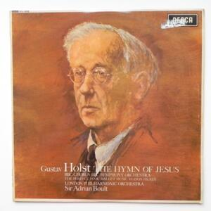 Gustav Holst  THE HYMN OF JESUS / London Philharmonic Orchestra conducted by Sir Adrian Boult  --  LP 33 giri - Made in UK - PRIMA STAMPA 1962