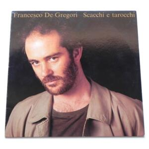 Scacchi e Tarocchi / Francesco De Gregori --  LP 33  giri - Made in Italy 1985