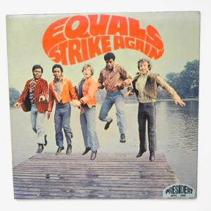 Strike Again / Equals  --  LP 33 giri - Made in Italy 1969