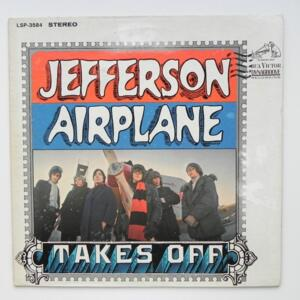 Jefferson Airplaine Takes Off / Jefferson Airplane  --  LP 33 giri - Made in USA 1966