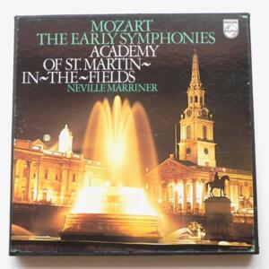 Mozart THE EARLY SYMPHONIES / Academy of St. Martin in the Fields dir. Neville Marriner --  Boxset 8 LP 33 giri - Made in Holland - PHILIPS 6747 099 8LP