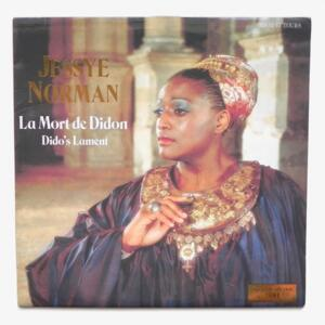 La Mort de Didon (Dido's Lament) / Jessye Norman  --  LP 45 giri - Made in Holland/France - SPECIAL COLLECTOR LIMITED EDITION NR. 2681 - PHILIPS 416 914-1