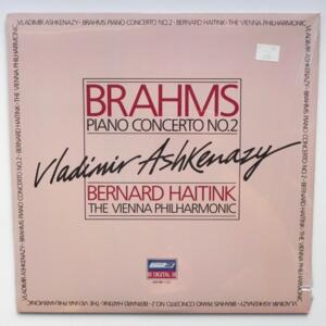 Brahms PIANO CONCERTO NO.2 / Vladimir Ashkenazy - The Vienna Philharmonic dir. Bernard Haitink  --  LP 33 giri  - Made in USA/UK - LONDON 410 199-1 - SIGILLATO